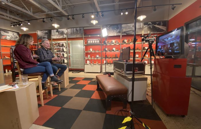 Featured project Inhouse media Red Wing Shoes Webcast