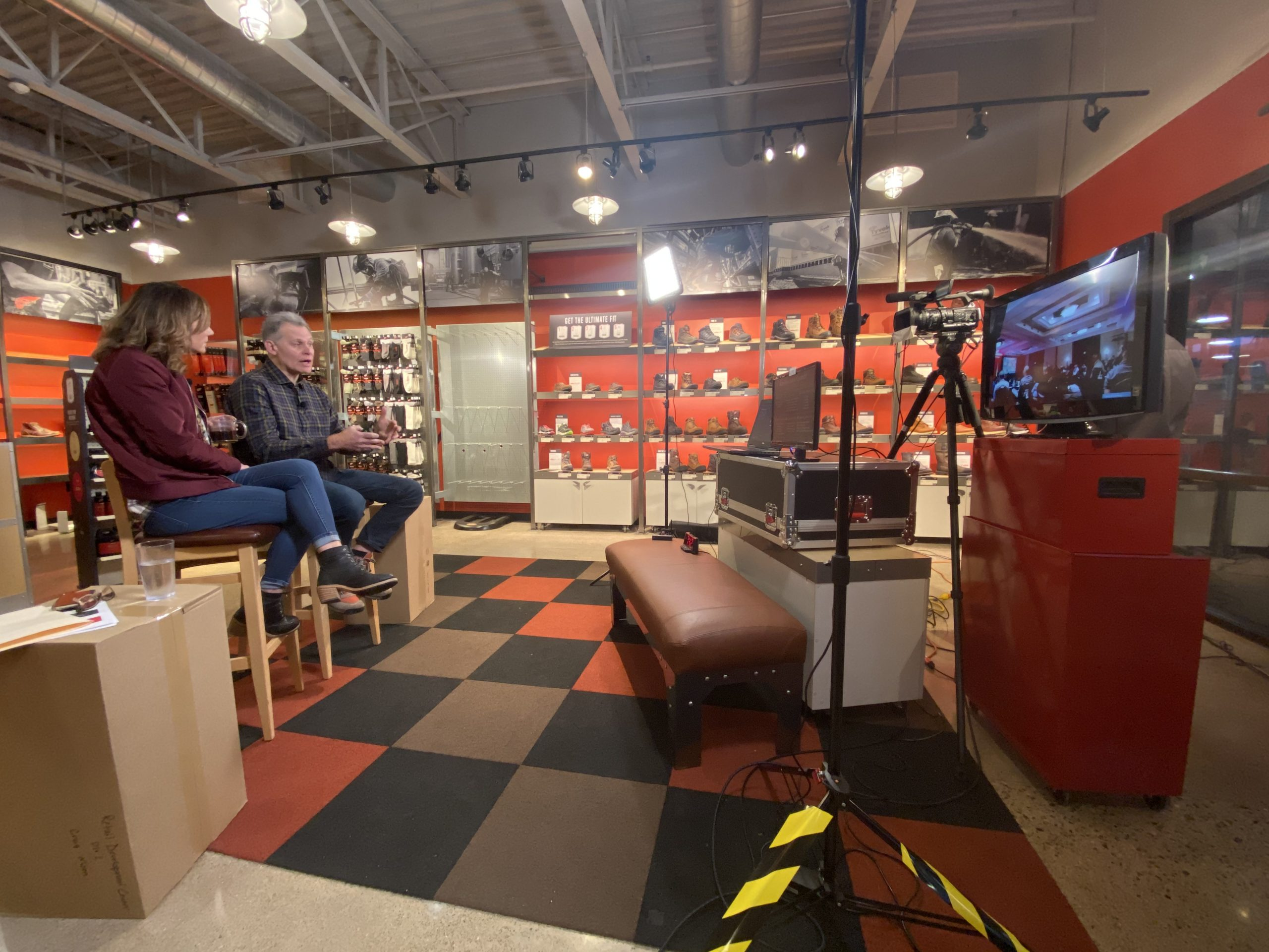 Featured project Inhouse media Red Wing Shoes Webcast Hq